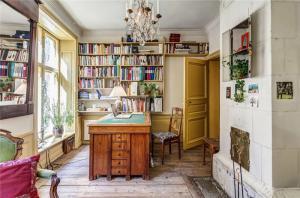 美式乡村风组合书柜