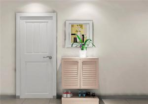 现代木质鞋柜