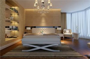 豪华卧室布置图片