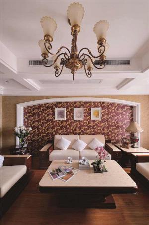 板式小客厅家具图片