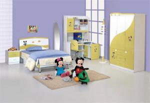 米老鼠儿童房书柜