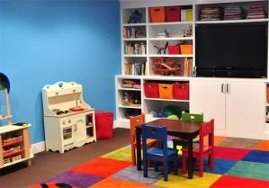 彩色儿童学习桌