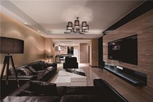 温馨现代客厅家具