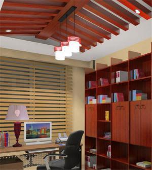 中式书柜设计图