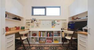 对称型双人拐角书桌