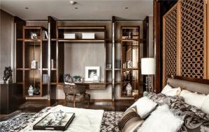 中式豪华简约书桌