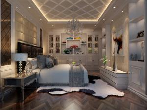 公寓卧室布置图片