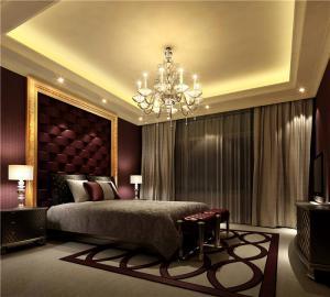 简约卧室布置图片