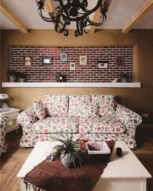 公寓现代客厅家具图片