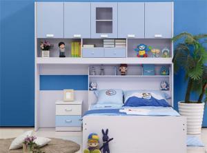 儿童房书柜家具设计