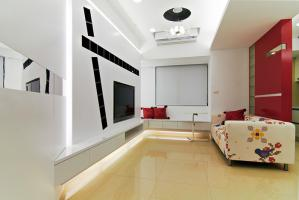 时尚新中式客厅家具高度