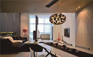 现代长方形客厅家具图片