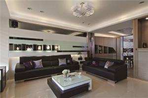 好看的客厅沙发摆放效果图欣赏