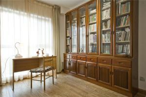 古朴风新中式书柜