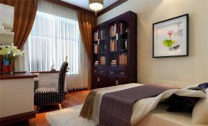 卧室书柜家具定制