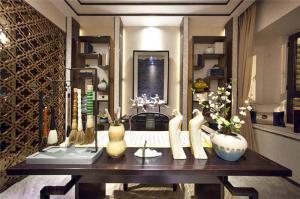 豪华中式书桌