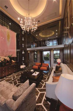 中式客厅家具样板间