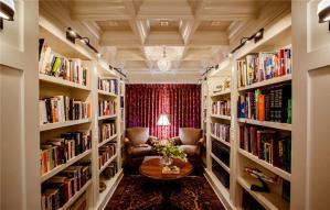 美式书柜设计图