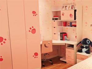 女孩儿童房书柜