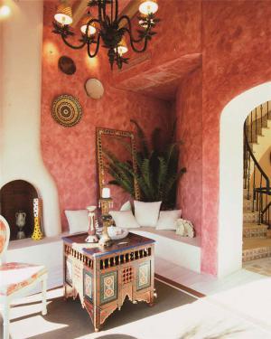小户型新中式客厅家具图片