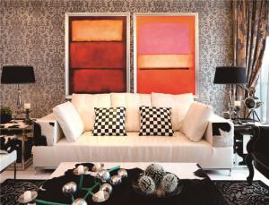 板式长方形客厅家具