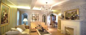 家居客厅沙发摆放效果图欣赏