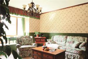 简欧客厅沙发摆放效果图欣赏
