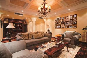 长方形客厅家具风格