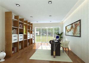 书柜设计图效果图