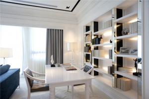 家装简单的双人书桌