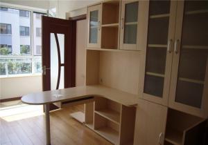 简洁风格转角书柜