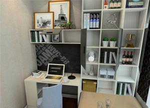 现代简约卧室书桌