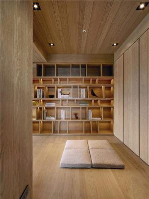 日本整体书柜