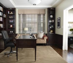 简单素净美式书桌