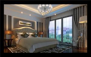 家居带飘窗的卧室装修图片