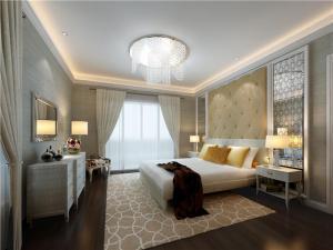 小户型带飘窗的卧室装修效果图