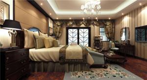 美式家庭卧室装修