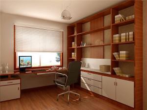 新中式大气拐角书桌