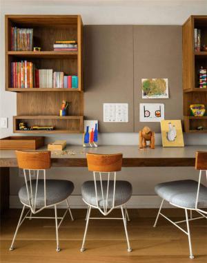 色彩活力双人书桌
