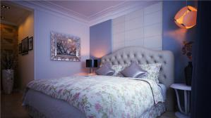 时尚家庭卧室装修效果图
