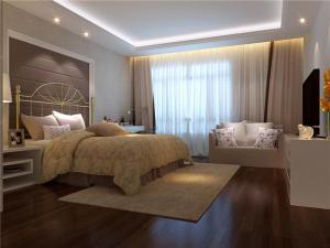 热门带飘窗的卧室装修图片