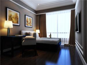 温馨带飘窗的卧室装修图片