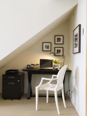 北美简单卧室书桌