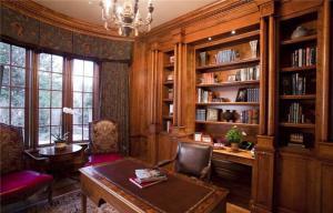古典风组合书柜