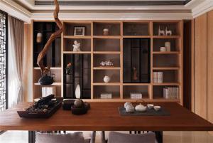 休闲中式书桌