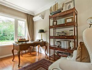 欧式古典家具书柜