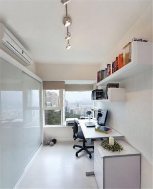 狭长型组合书桌