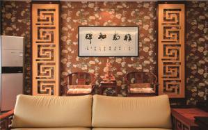 美式小客厅家具图片