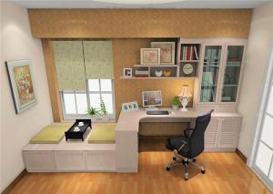 榻榻米书桌设计图