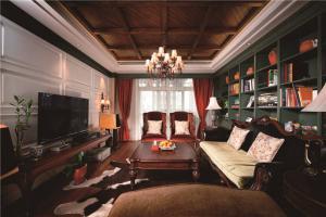长方形客厅家具设计